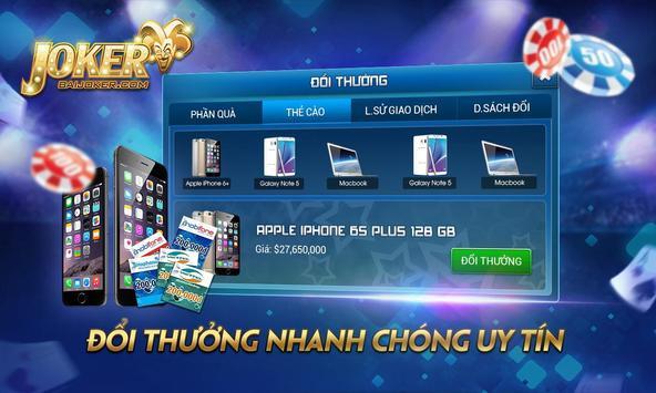 BaiJoker - Game bai doi thuong screenshot 8