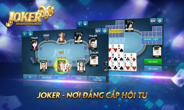 BaiJoker - Game bai doi thuong screenshot 9