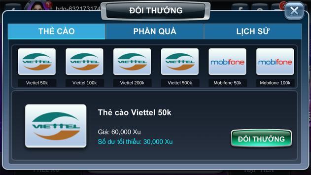 Danh Bai Doi Thuong 2018 - Game Bai Doi Thuong screenshot 7