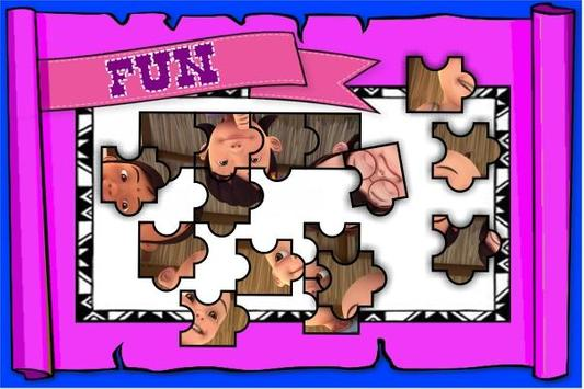 Puzzle Upin Slide Ipin 2018 poster