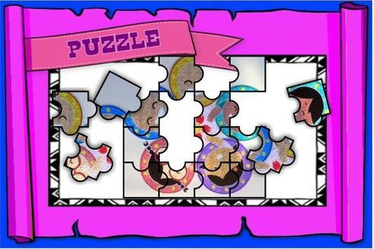 Puzzle Upin Slide Ipin 2018 screenshot 2
