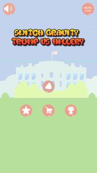SwitchGravity Trump vs Hillery poster