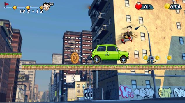 Mr Beam Skater Adventure apk screenshot