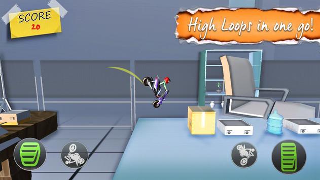 Stick Stunt Rider: Extreme Motorcycle Riding apk screenshot