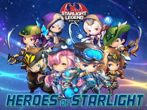 Starlight Legend - MMORPG poster