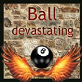 ball devastating Broken icon