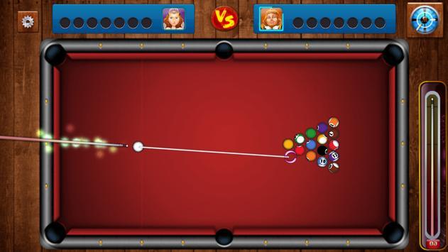 Pool Billiards Ball poster