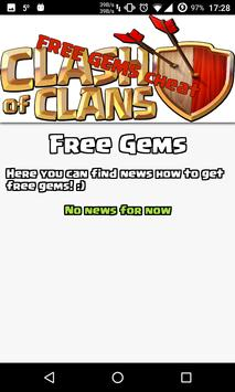 Gems Cheat For Clash Of Clans screenshot 1