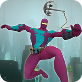 Ultimate Rope Hero Ninja City icon
