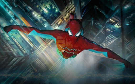 Superhero Strange War Hero poster