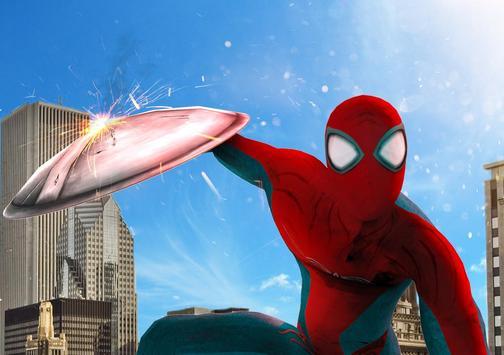 Superhero Strange War Hero screenshot 1