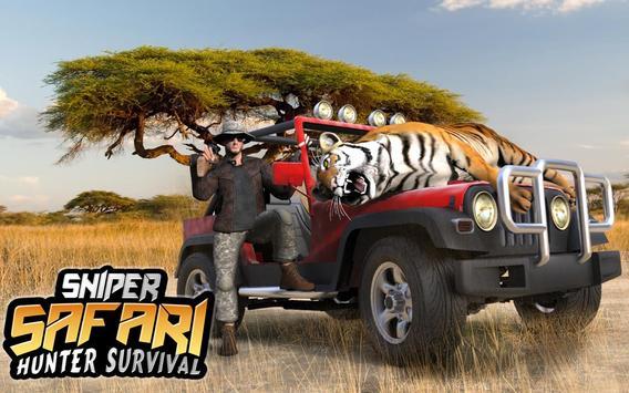 Sniper Safari Hunter Survival screenshot 11