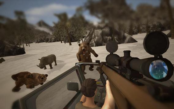 Sniper Safari Hunter Survival screenshot 2