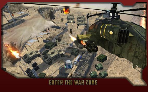 Gunship Air Attack : Battle 3D screenshot 11