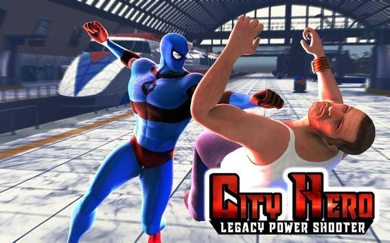 City Hero Legacy:Power Shooter poster