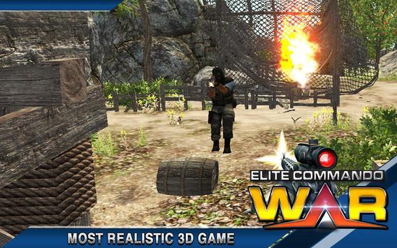 Elite Terrorist Commando War apk screenshot