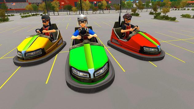 Super Hero Kids Bumper Car Race screenshot 6