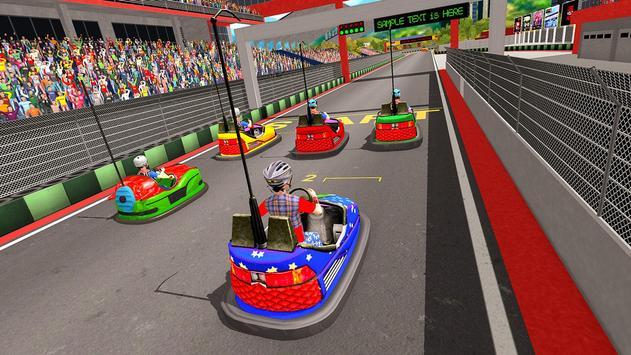 Super Hero Kids Bumper Car Race screenshot 7