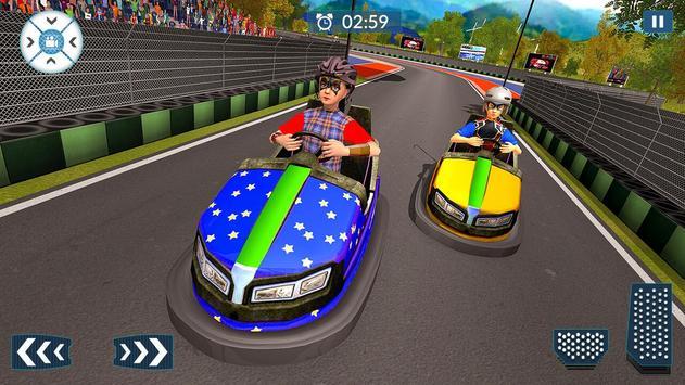 Super Hero Kids Bumper Car Race screenshot 17