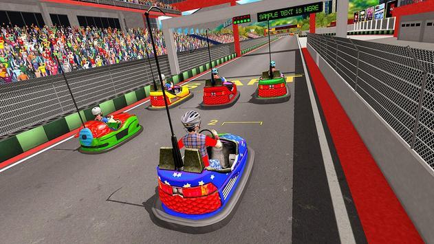 Super Hero Kids Bumper Car Race screenshot 14