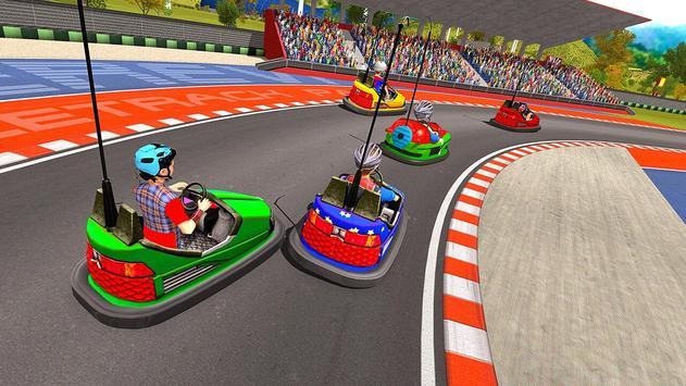 Super Hero Kids Bumper Car Race screenshot 15