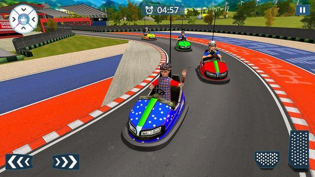 Super Hero Kids Bumper Car Race screenshot 16