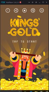 kings gold poster