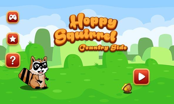 Hoppy Squirrel poster