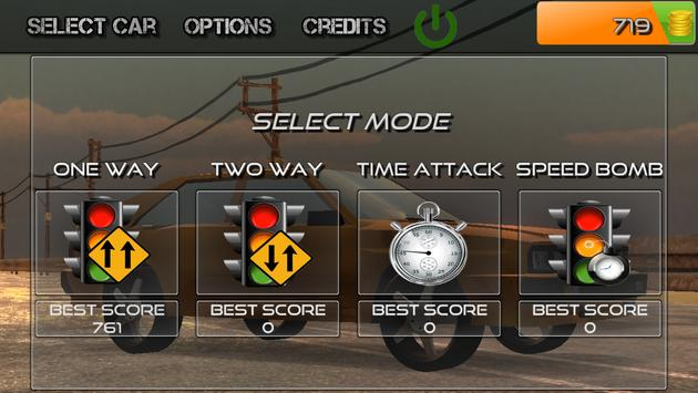 Traffic Highway Racer Game screenshot 2