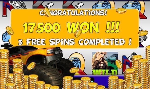 Monster Truck Slots Machine screenshot 2