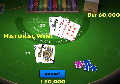 Pocket Blackjack 21 Vegas GO screenshot 6