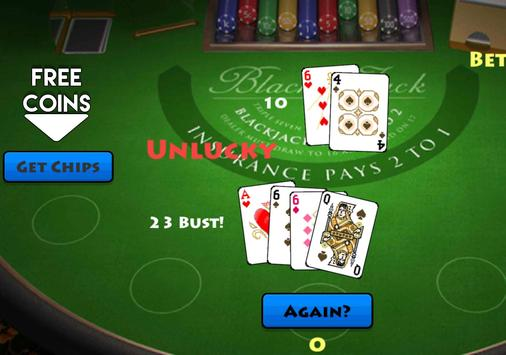 Pocket Blackjack 21 Vegas GO screenshot 9