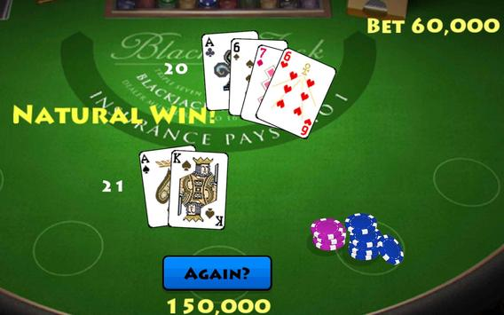 Pocket Blackjack 21 Vegas GO screenshot 11