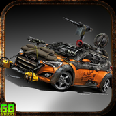 Crazy Rider Death Road icon