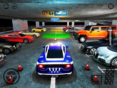 Multi Level Police Car Parking screenshot 11