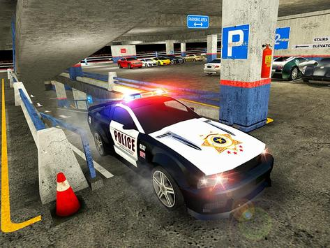 Multi Level Police Car Parking screenshot 12