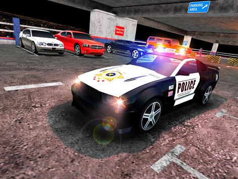 Multi Level Police Car Parking screenshot 14