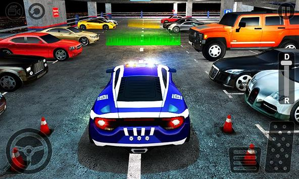 Multi Level Police Car Parking screenshot 1