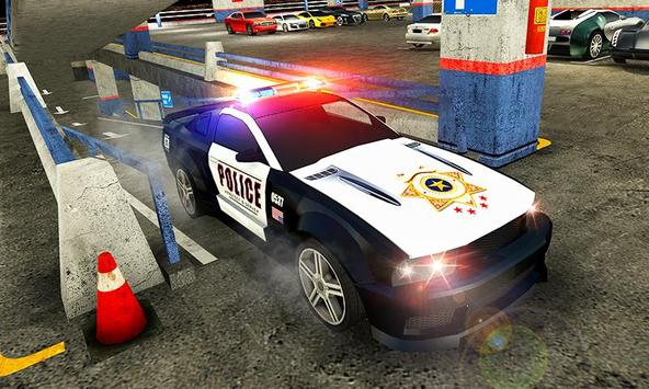 Multi Level Police Car Parking screenshot 2