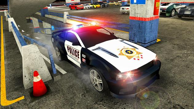 Multi Level Police Car Parking screenshot 7