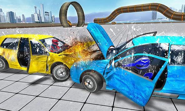 Crash Car Drive 2018 screenshot 4