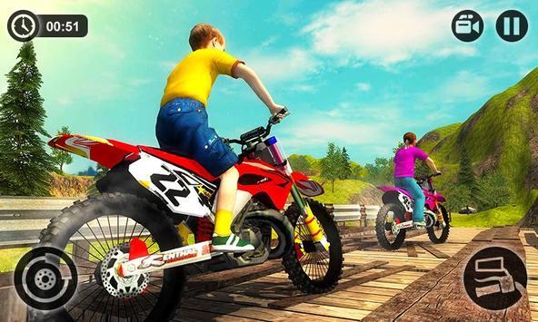 Kids Downhill Mountain Motorbike Riding APK Download - Free ...