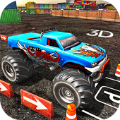 Monster Truck Parking 2017 icon