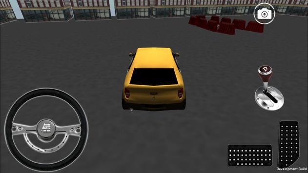 Car Parking Simulator 3D poster