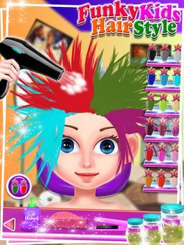 Funky Kids Hair Style - Salon screenshot 9