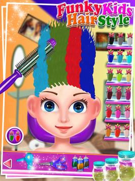Funky Kids Hair Style - Salon screenshot 14