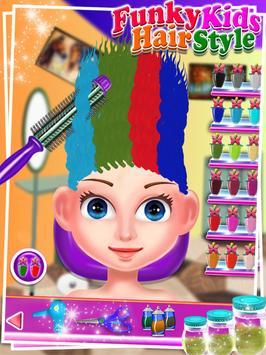 Funky Kids Hair Style - Salon screenshot 2