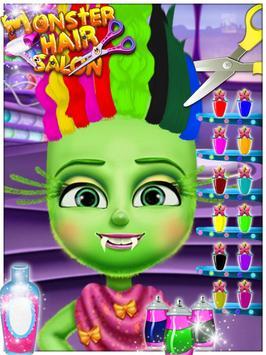 Monster Hair Salon apk screenshot