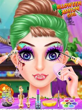 Halloween Fashion Girl apk screenshot