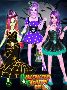 Halloween Fashion Girl screenshot 2